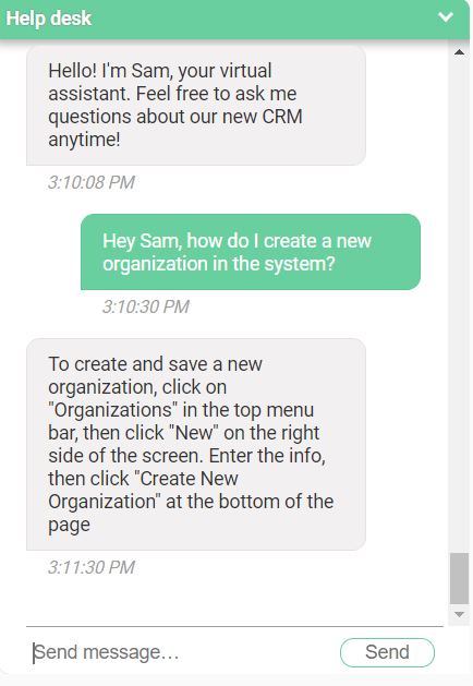 Customer Service CRM Image