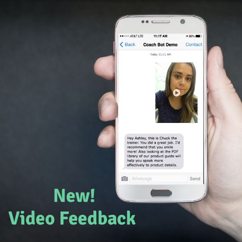New Video Feedback Feature!