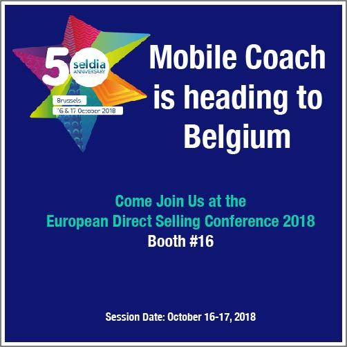 Mobile Coach is heading to Belgium