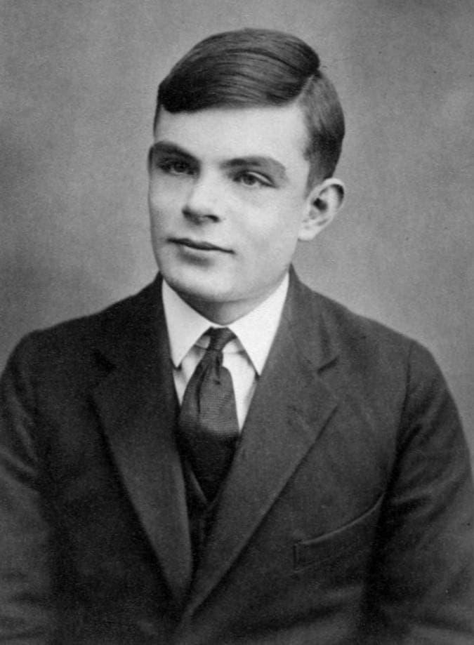 Alan Turing, age 16