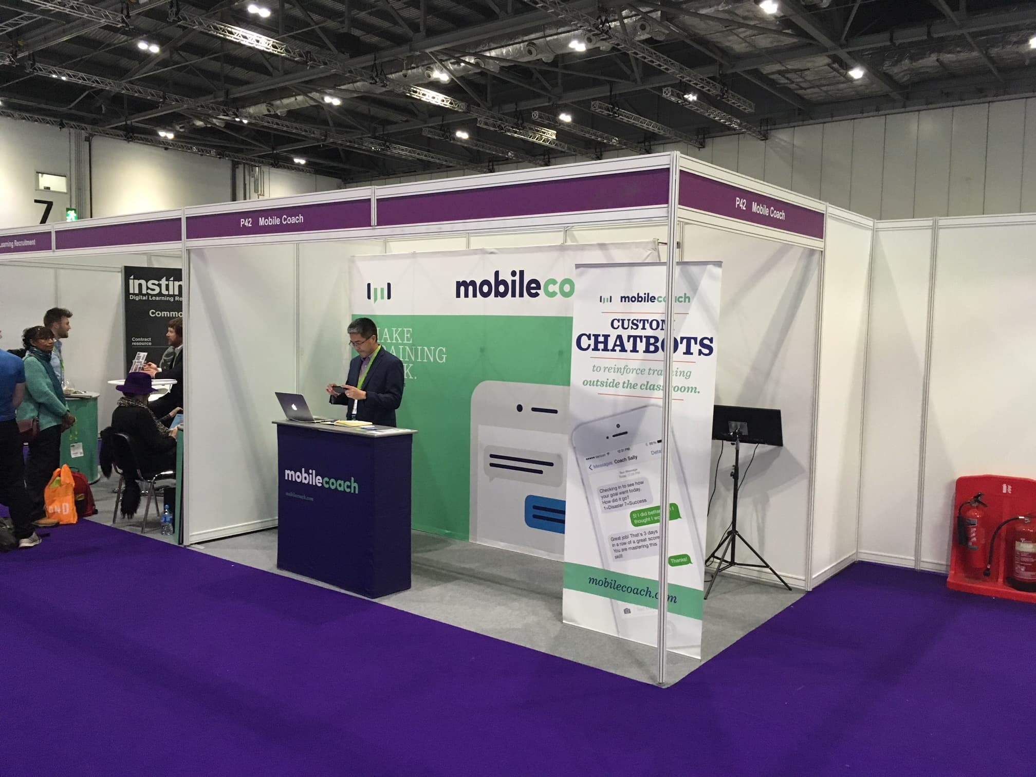 Mobile Coach at Learning Technologies 2019