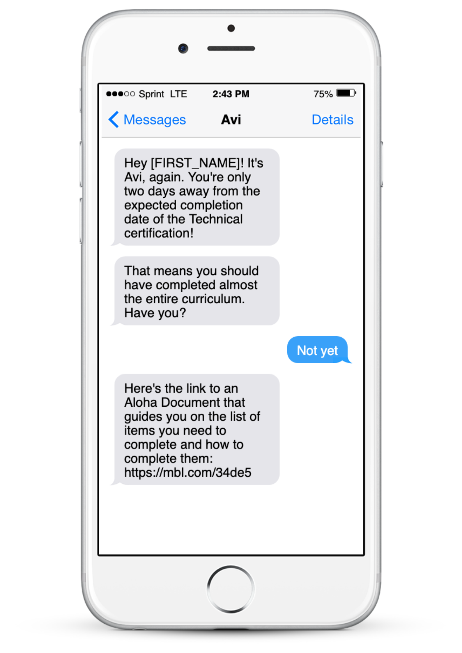 example of chatbot use case - new hire onboarding